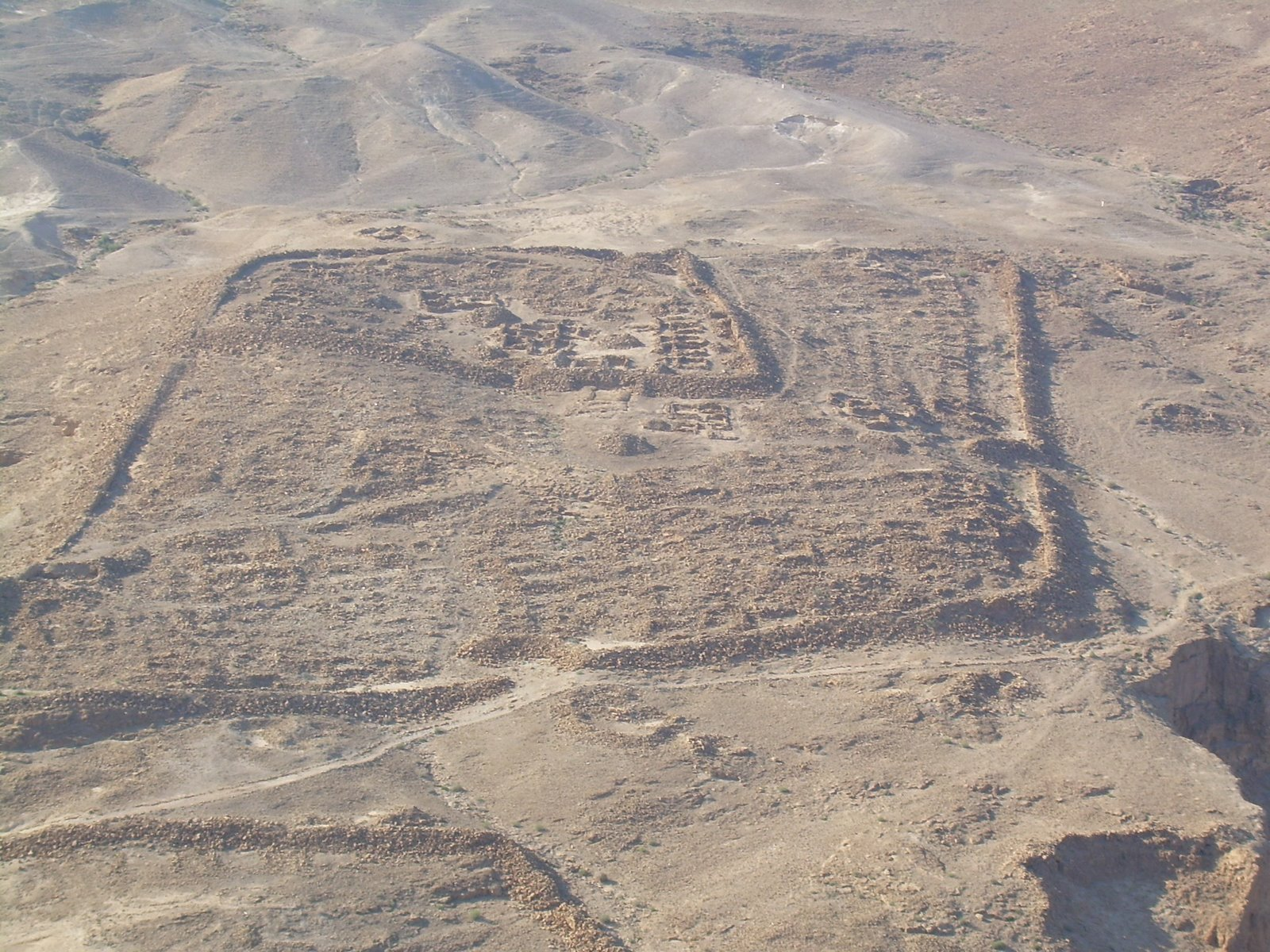 Resti del campo della X fretensis a Masada