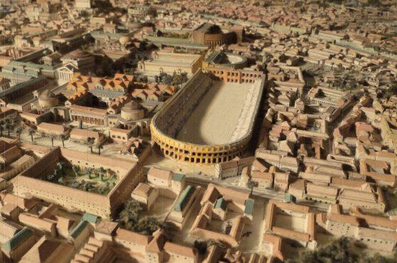 Lo stadio di Domiziano