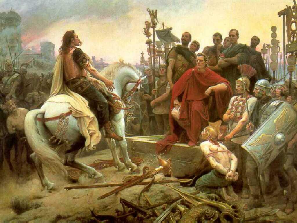 La resa di Vercingetorige