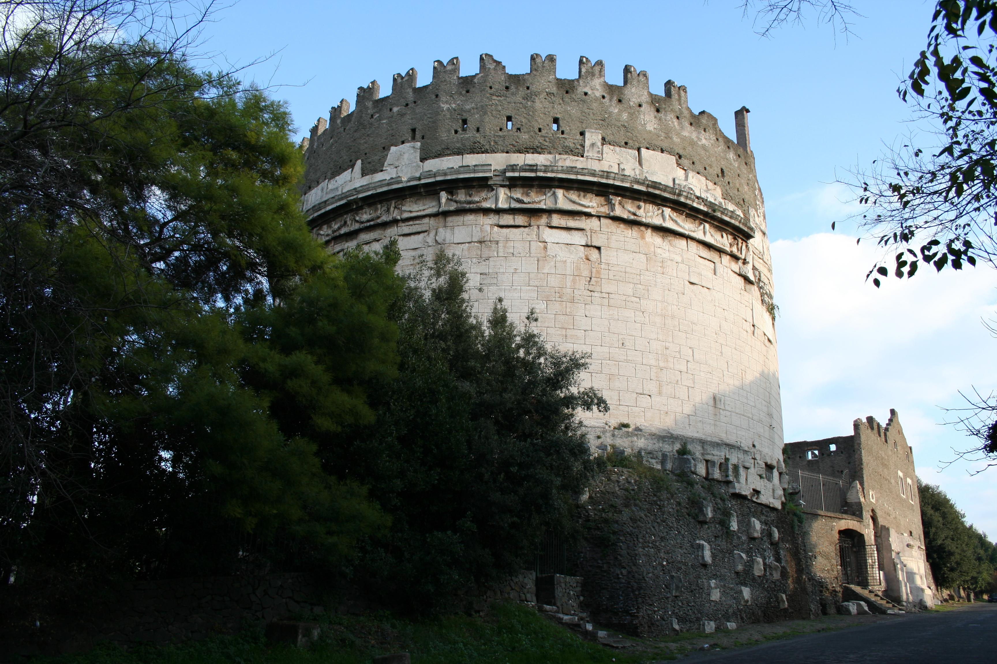 Il Mausoleo di Cecilia Metella