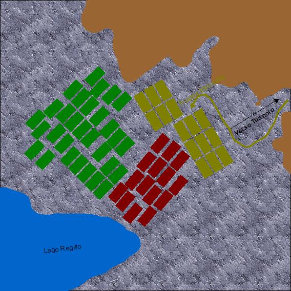 La battaglia del Lago Regillo