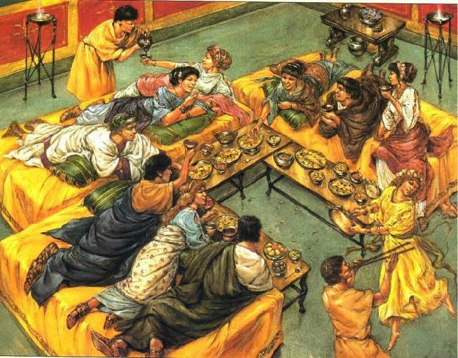 L 39 alimentazione nell 39 antica roma roma eredi di un impero for Cibi romani