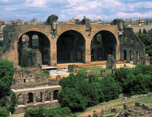 La Basilica di Massenzio