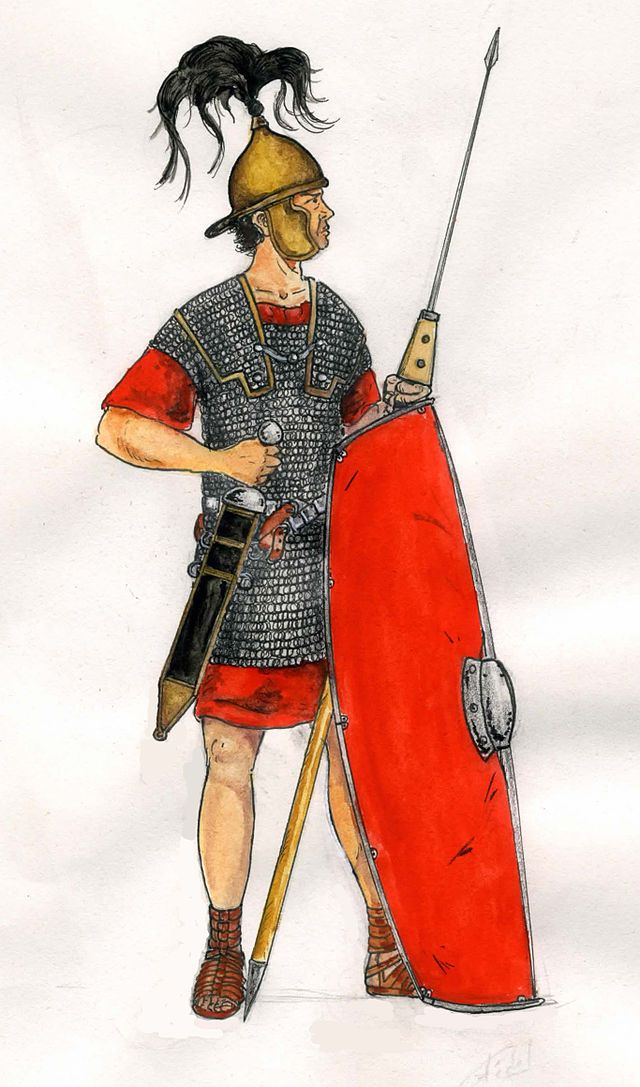 Legionario romano del I sec. a.C.