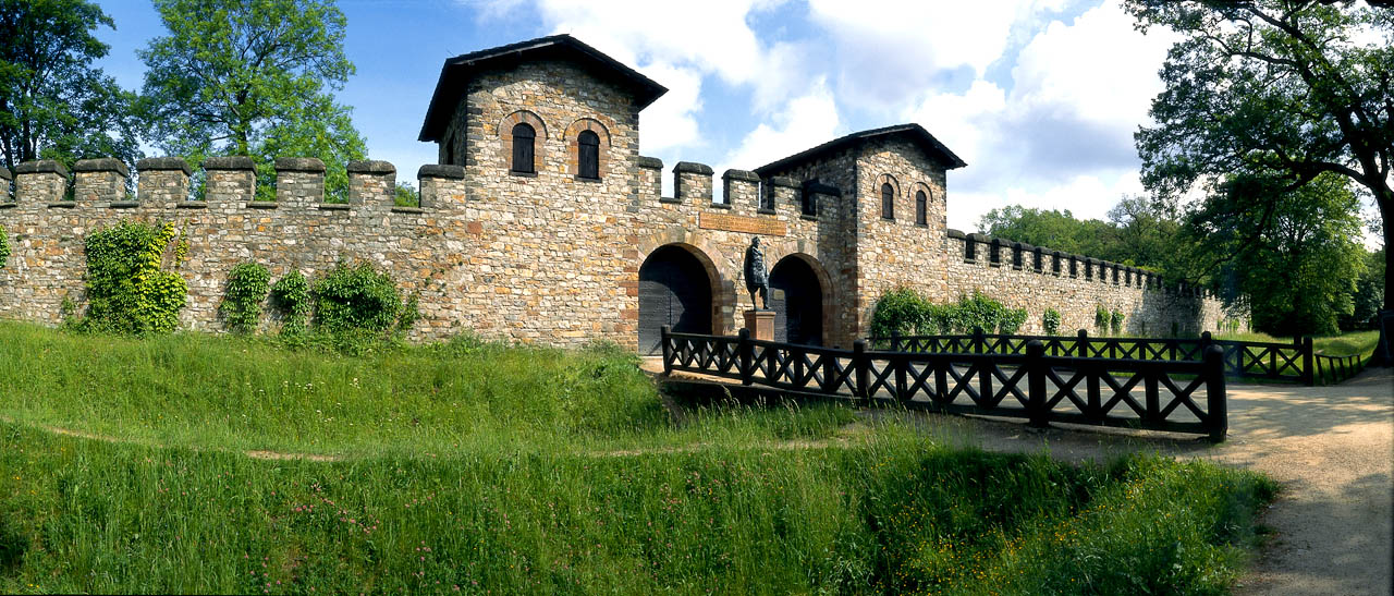 Ricostruzione del forte di Saalburg