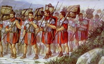 Legionari in marcia