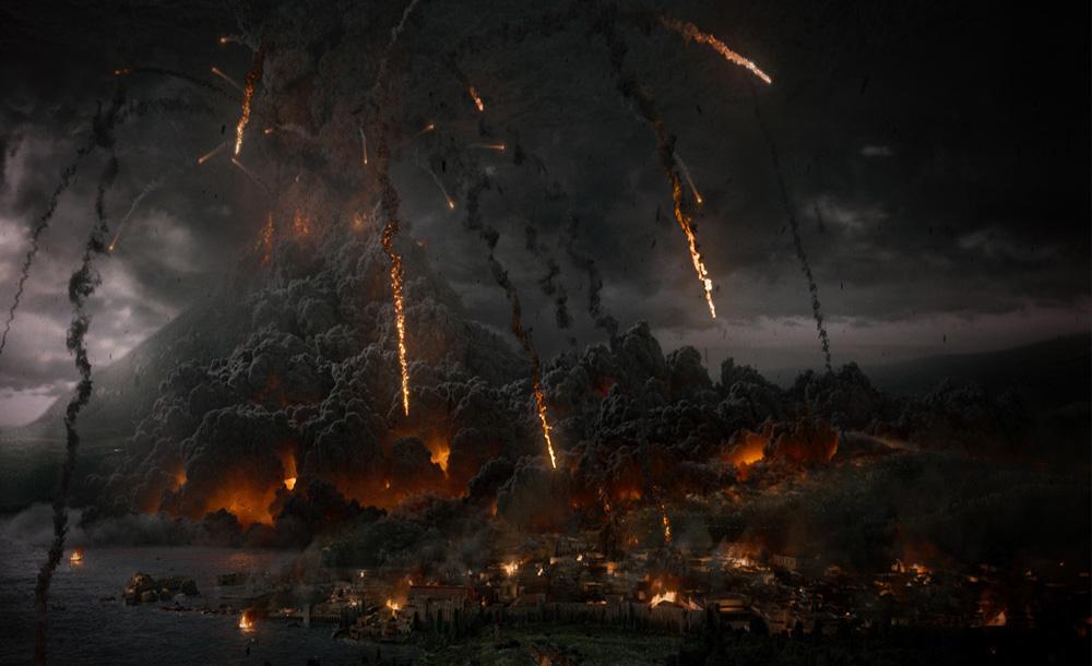 L'eruzione del Vesuvio sommerse Pompei sotto sei metri di cenere vulcanica.