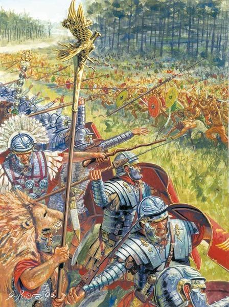 legionari in battaglia
