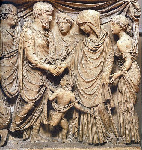 un matrimonio nella Roma antica