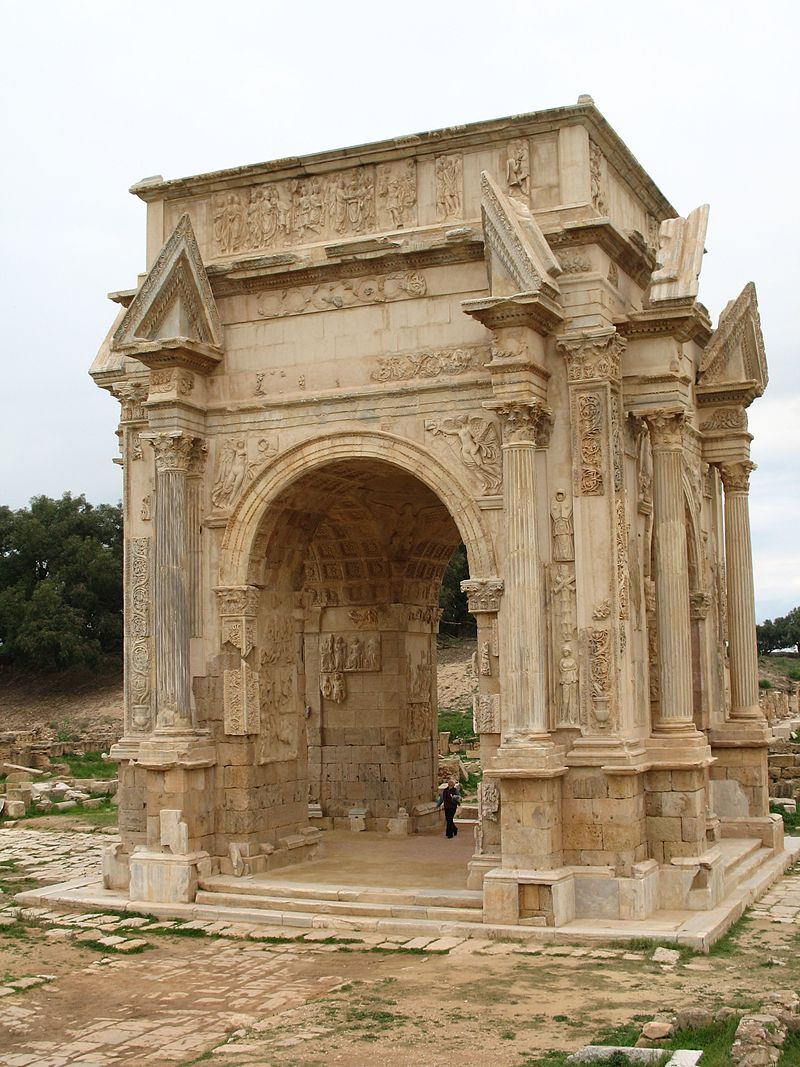 Arco di Settimio Severo a Leptis Magna