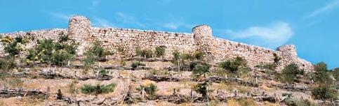 La cittadella di Zela, nella Turchia orientale, nei pressi della quale si svolse la famosa battaglia tra Cesare e Farnace II.