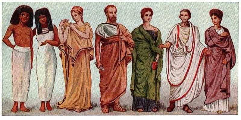 L 39 abbigliamento nella roma antica roma eredi di un impero for Cibi romani