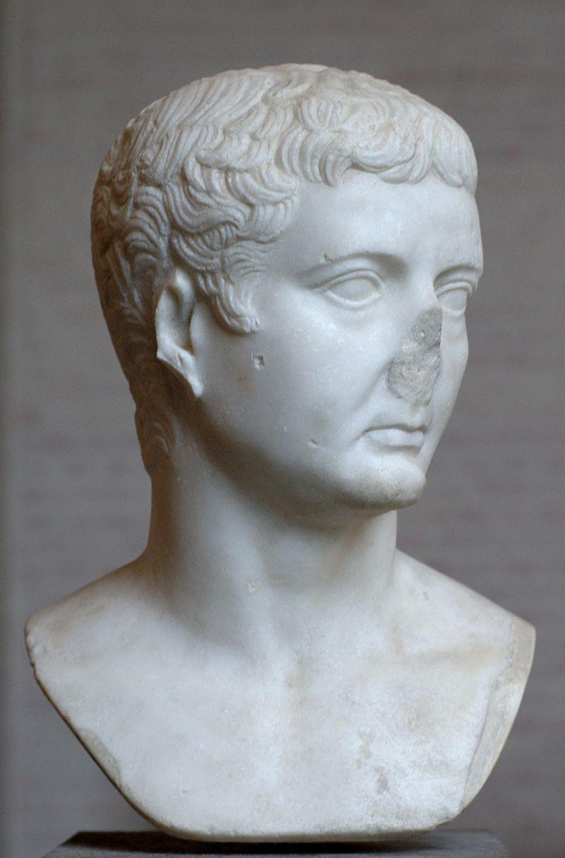 Busto di Tiberio conservato alla Gliptoteca di Monaco di Baviera