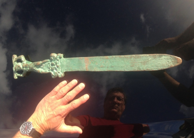 Romani in America, leggenda o realtà? la spada dell'isola di Oak