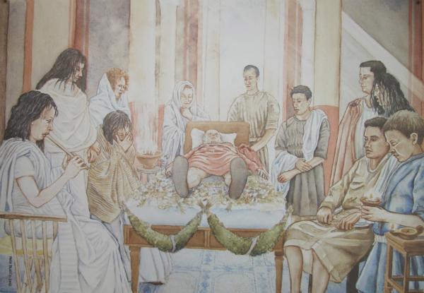 I riti funebri nella Roma antica
