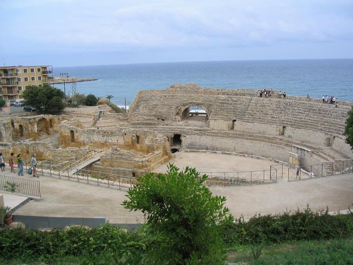 Tarraco, l'anfiteatro