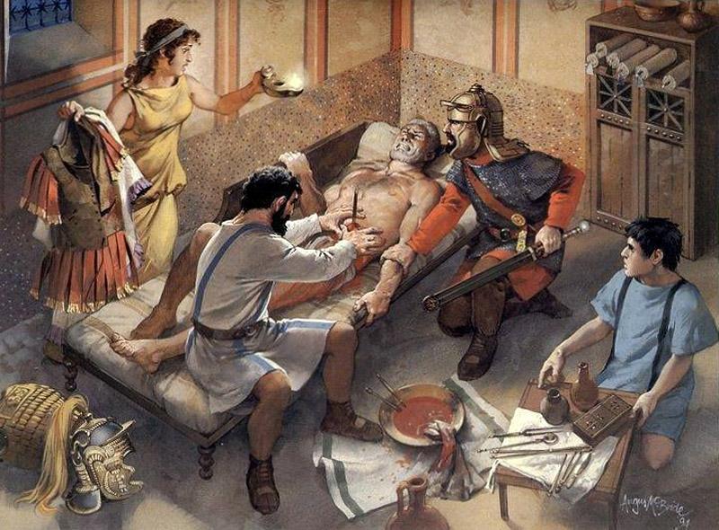 La medicina romana roma eredi di un impero for Vasi antichi romani