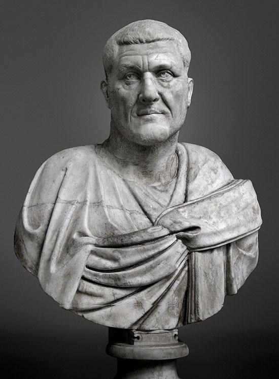 Assedio di Aquileia,  busto di Massimino il Trace