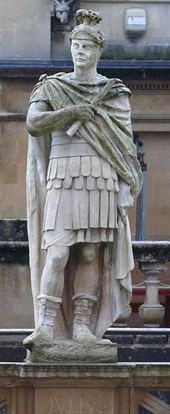Campagne in Britannia di Agricola , statua di Giulio Agricola.