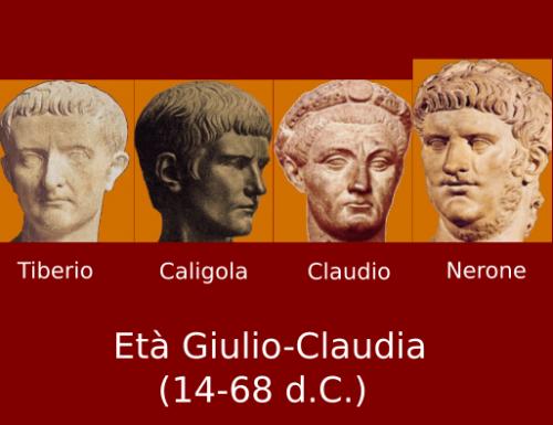 La Dinastia Giulio Claudia