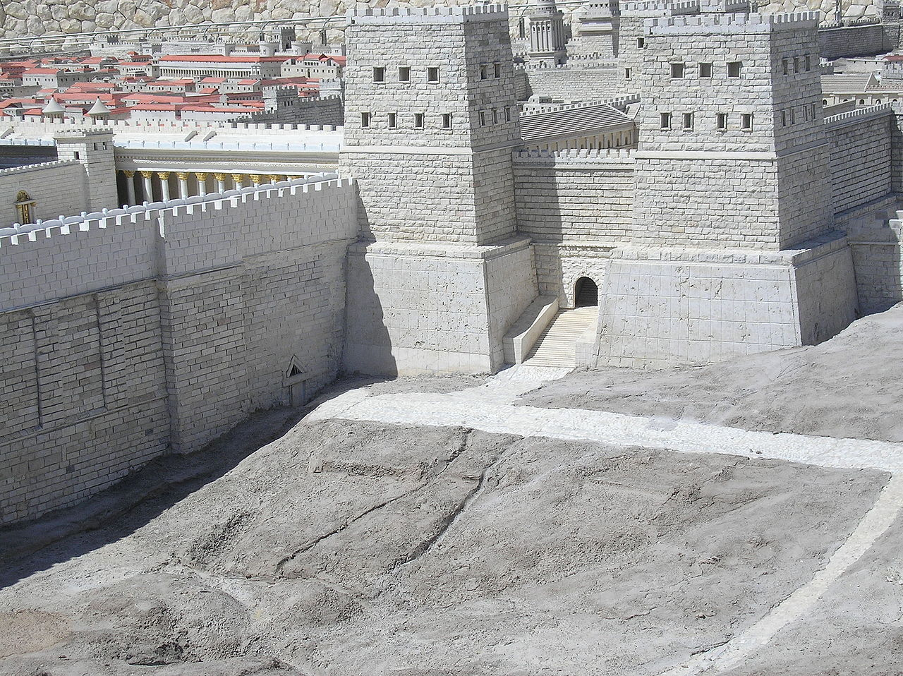 La fortezza Antonia