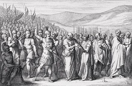 La secessione della plebe sul Monte Sacro