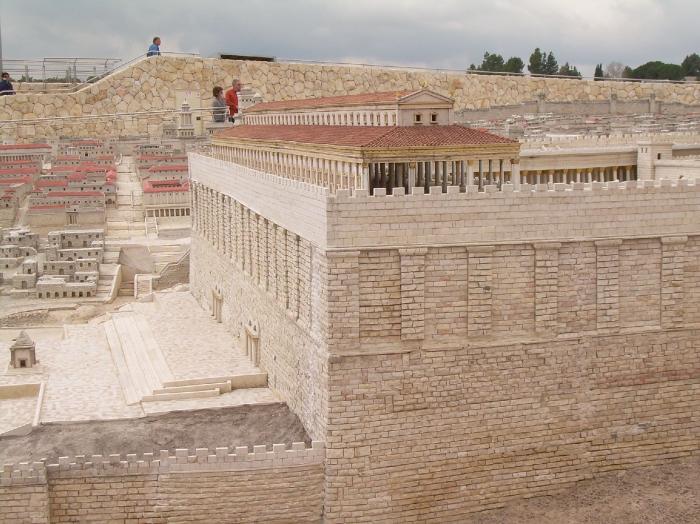 Portico meridionale esterno del tempio