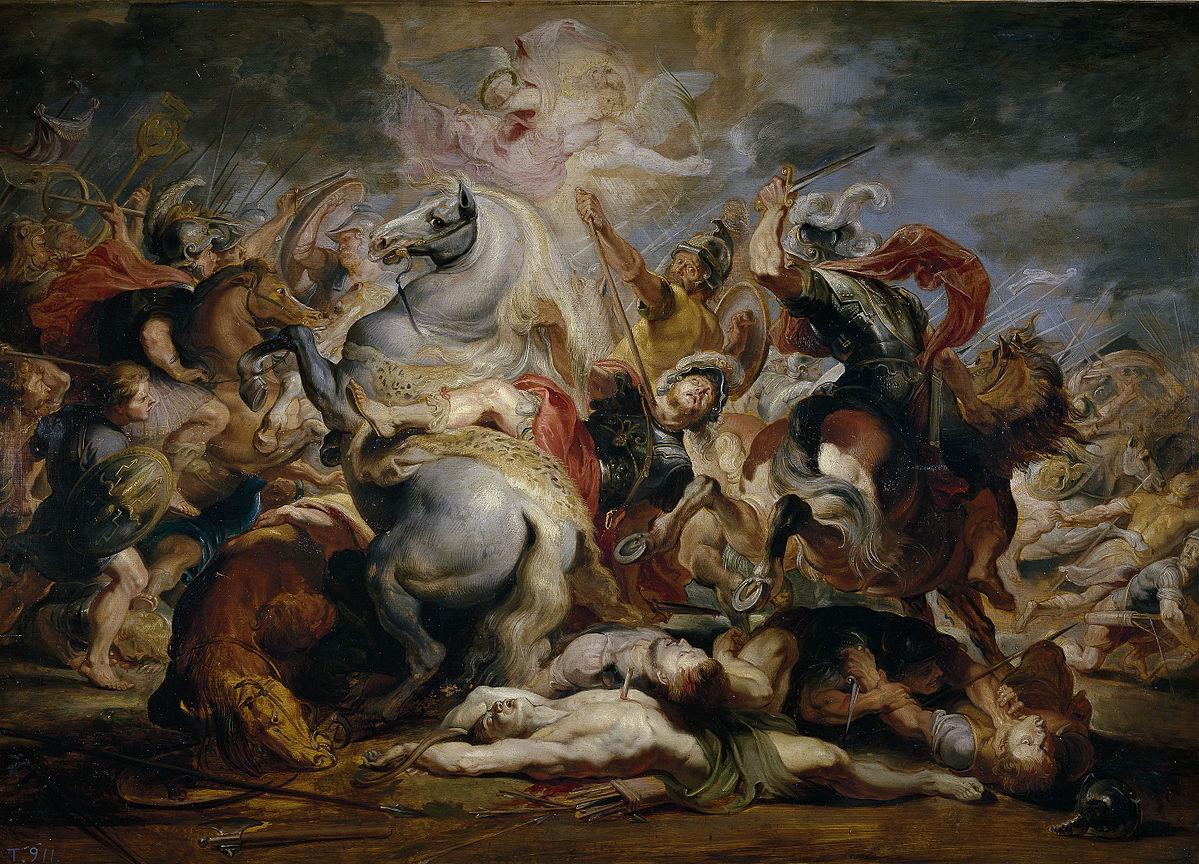 La Devotio di Publio Decio Mure nel dipinto di Rubens