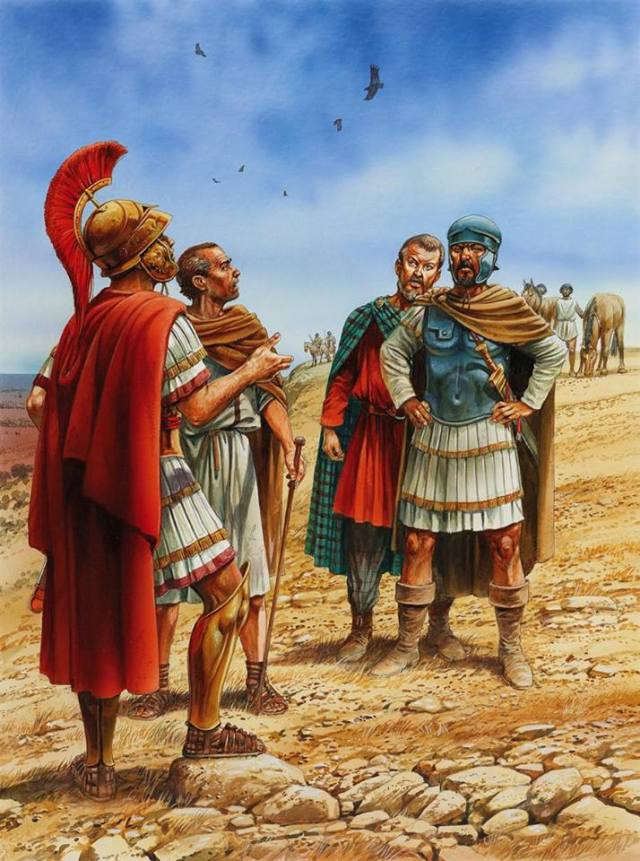 L'incontro fra Annibale e Scipione prima della battaglia di Zama
