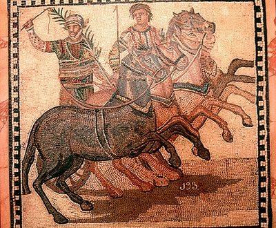 I celebri Aurighi di Roma