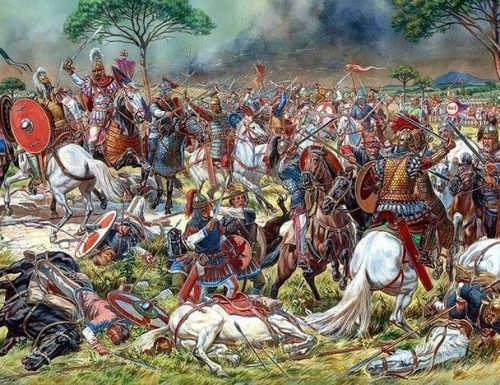 Adrianopoli  il 9 agosto 378 d.C.,