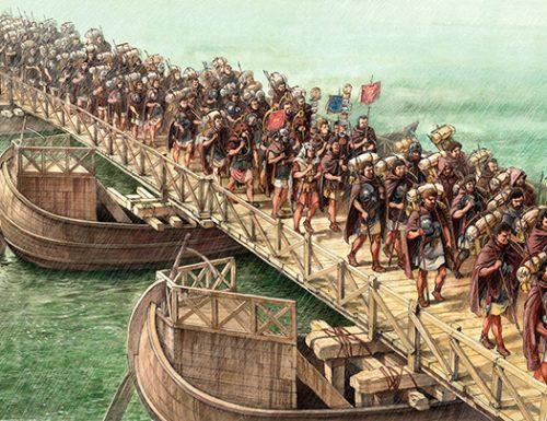 Le Legioni romane in marcia