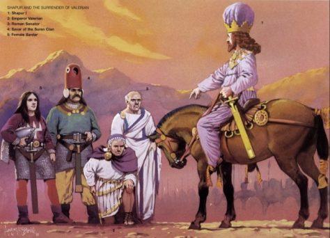 Valeriano, l'Imperatore imprigionato
