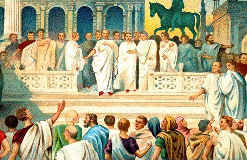 Lo scontro fra Clodio e Milone