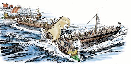La battaglia navale di Marsiglia