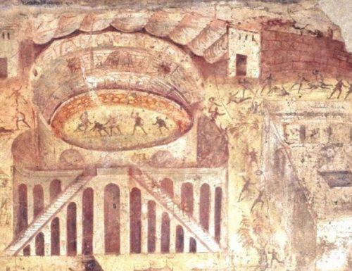 La grande rissa fra Pompeiani e Nocerini