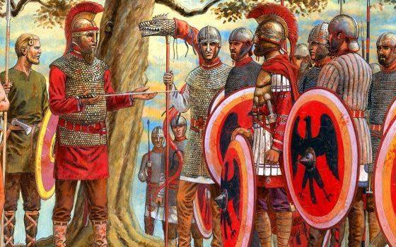 Marcellino, lo scudo di Roma