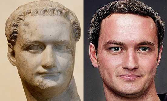 Domiziano e il suo regno del terrore, ipotetica ricostruzione del volto di Domiziano