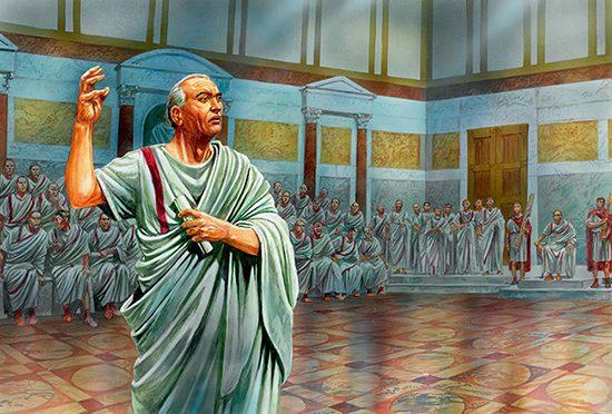La gestualità dei romani