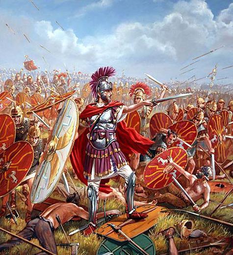 Motti di guerra dei legionari